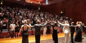 Standing Ovation all'inaugurazione di Amiata Piano Festival 2016 con Fabio Armiliato e il suo RecitaL CanTANGO.